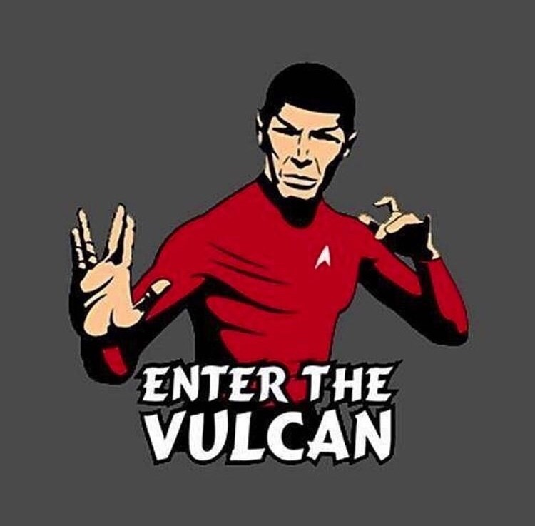 Cartoon - 2 ENTER THE VULCAN