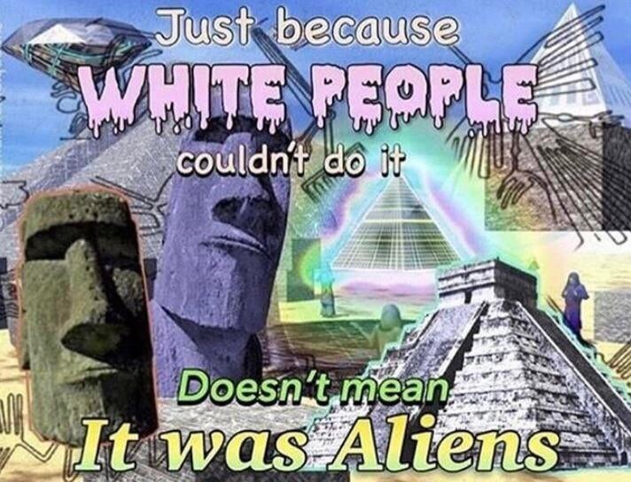 Landmark - Just because WHITE PEOPLE Couldnt do it Doesn't mean It was Altens