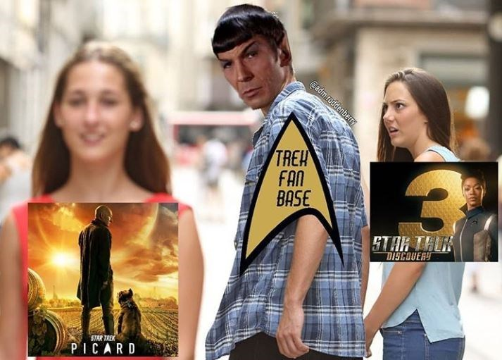 Street fashion - @admroddenberry TREH FAN BASE DISCOUERY STAR TREK PICARD
