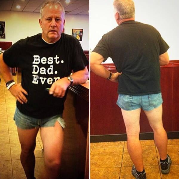 dad fashion - Leg - Best. Dad. Ever