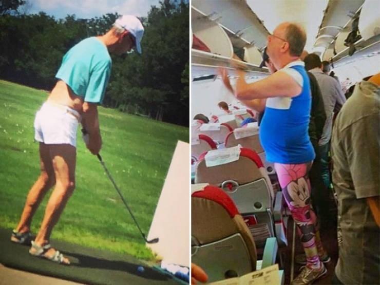 dad fashion - Golf