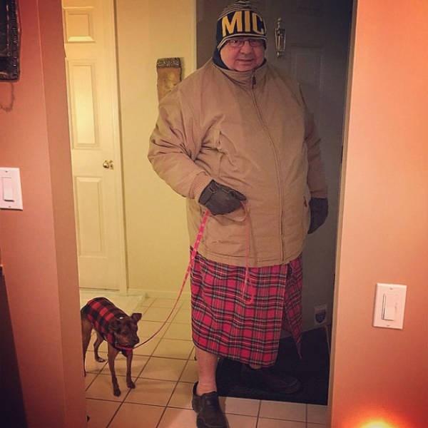 dad fashion - Plaid - MIL