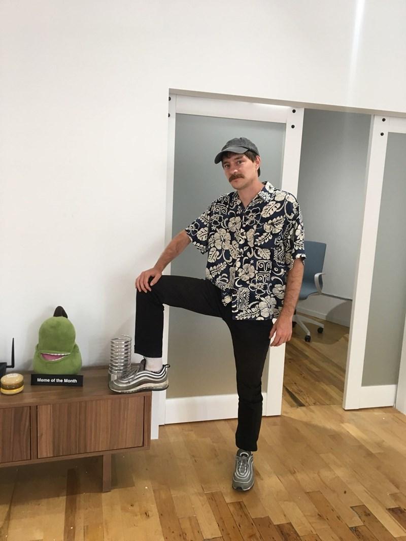 dad fashion - Shoulder - Meme of the Month