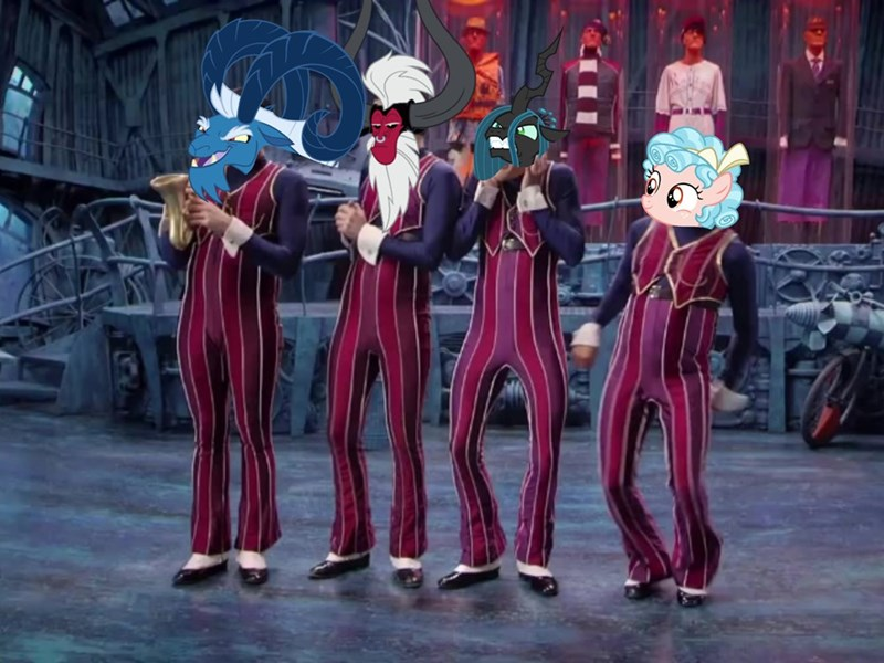 grogar Lazytown cozy tirek Memes chrysalis we are number one - 9332867328