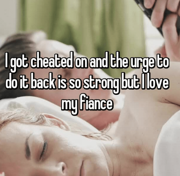 Skin - Igot cheated on and the urge to do it back is so strong butllove my Fiance