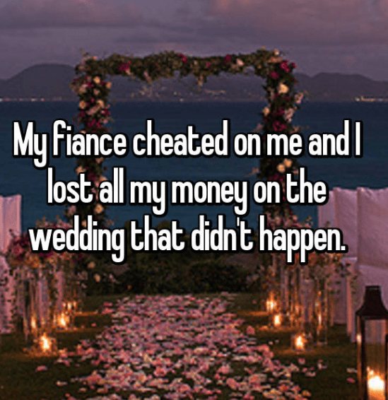 Sky - My Fiance cheated on me and lost all my money on the wedding that didnt happen