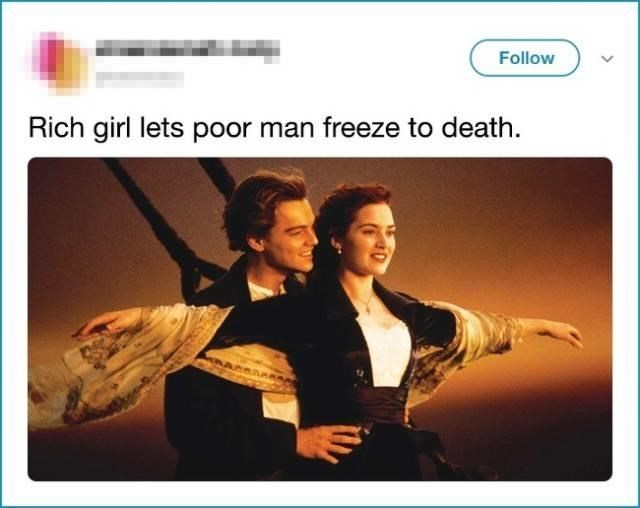 Photography - Follow Rich girl lets poor man freeze to death