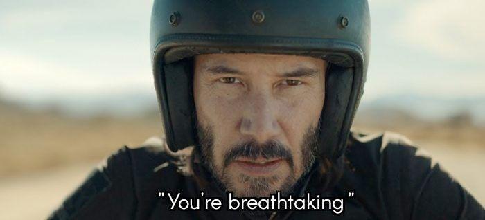 "Helmet - ""You're breathtaking"