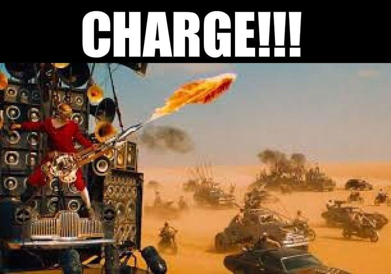 Motor vehicle - CHARGE!!! 15