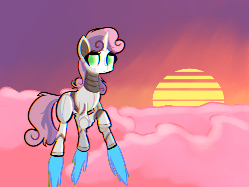 provolone pone Sweetie Belle sweetie bot - 9333026560
