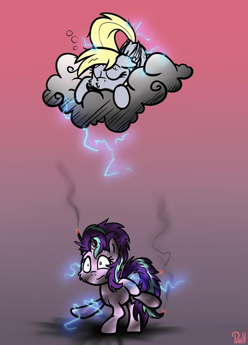 starlight glimmer derpy hooves - 9333033472