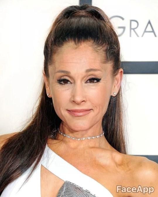 old celebrity - Hair - GRA FaceApp