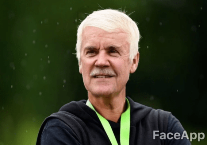 old celebrity - Facial expression - FaceApp