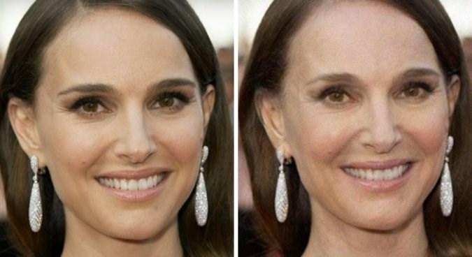old celebrity - Face