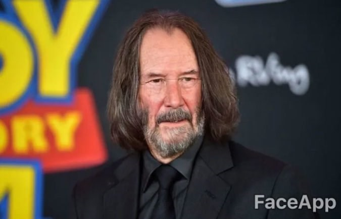 old celebrity - Facial hair - RY FaceApp