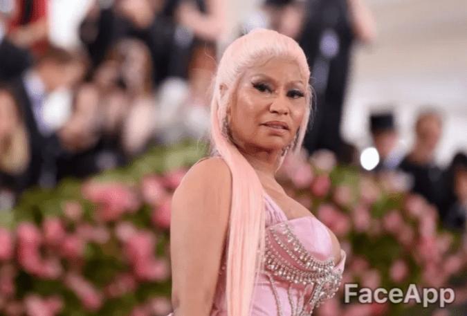 old celebrity - Pink - FaceApp