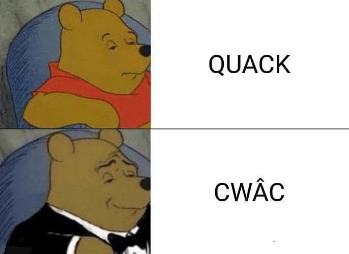 Cartoon - QUACK CWAC