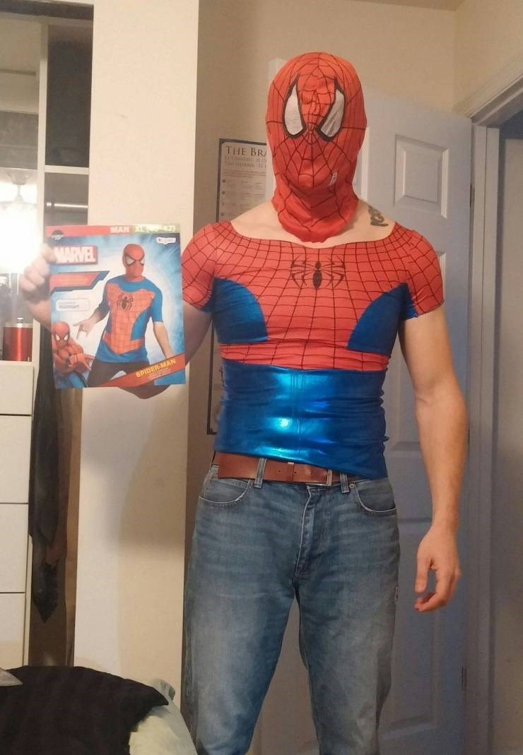 Spider-man - THE BR MAN 4 MARVEL 8PIDER-MAN