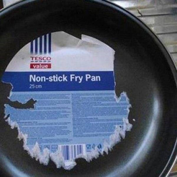 Expectation Vs Reality - Automotive wheel system - TESCO value Non-stick Fry Pan 25 cm