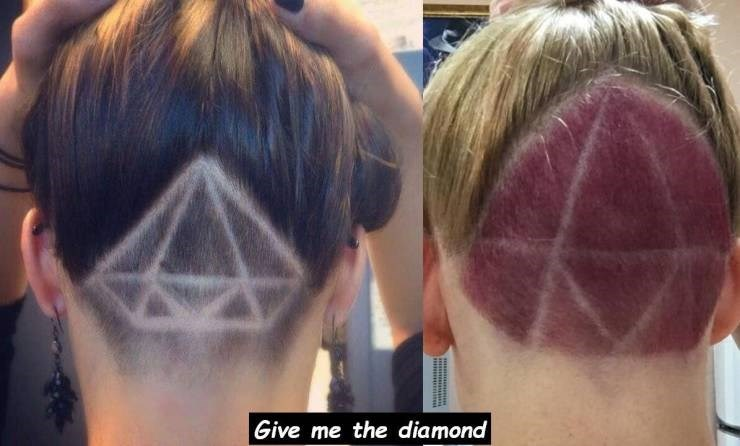 Expectation Vs Reality - Hair - Give me the diamond