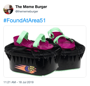 Violet - The Meme Burger @thememeburger #FoundAtArea51 TYD 11:21 AM -18 Jul 2019