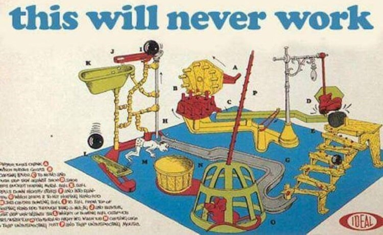 """Mouse Trap - """"This will never work"""""""