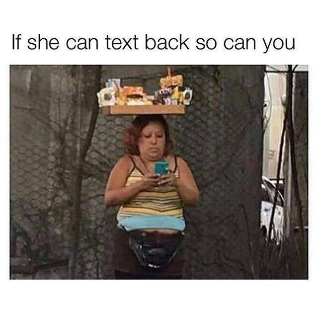 Photography - If she can text back so can you