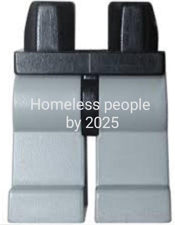 Floor - Homeless people by 2025