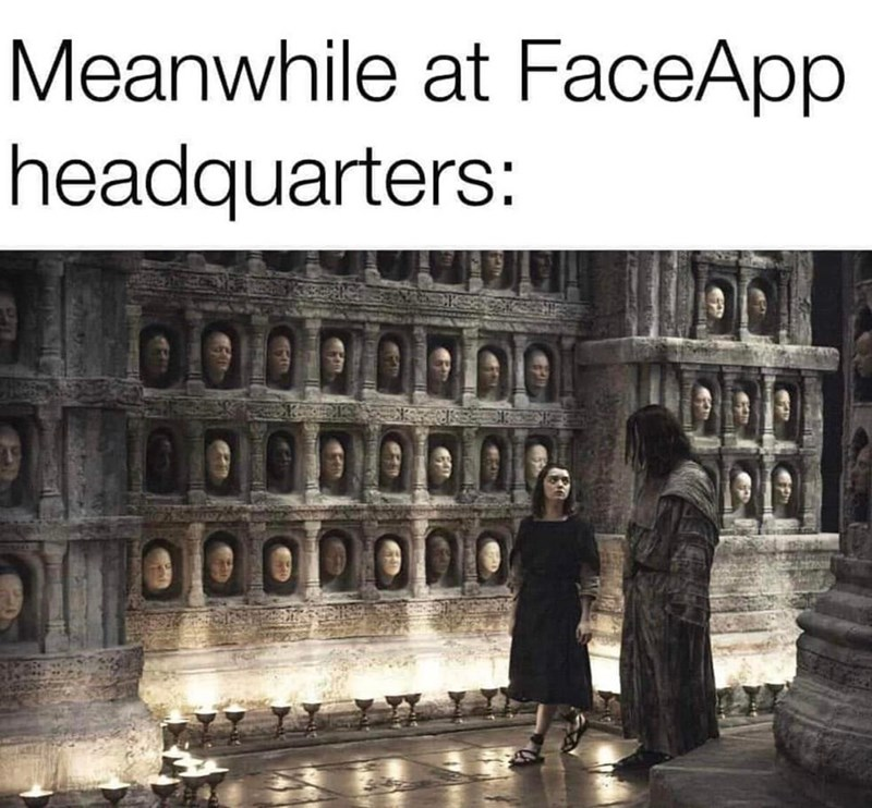 Holy places - Meanwhile at FaceApp headquarters: 00000