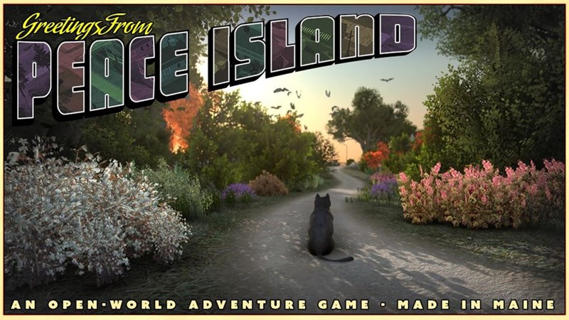 Tree - Greetings From PERCE ISLALS AN OPEN WORLD ADVENTURE GAME MADE IN MAINE