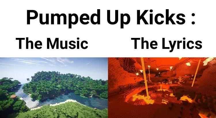 "Meme - ""Pumped Up Kicks: The Music The Lyrics"""