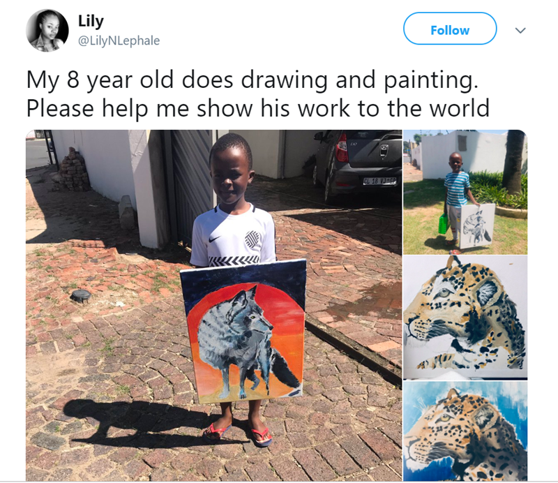 animal meme - Adaptation - Lily Follow @LilyNLephale My 8 year old does drawing and painting. Please help me show his work to the world CL 18 VJ-GP