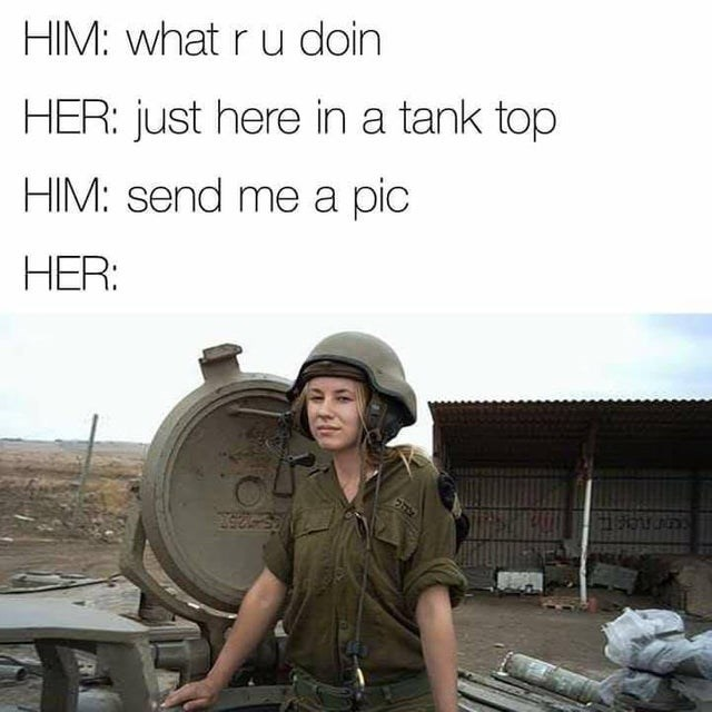 Adaptation - HIM: what r u doin HER: just here in a tank top HIM: send me a pic HER: 25