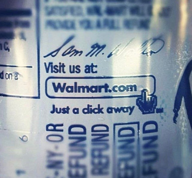 design fail - Text - S MOVDEYLARIL Visit us at d on a Walmart.comn Just a dick away 9 -NY-OR EFUND FUND