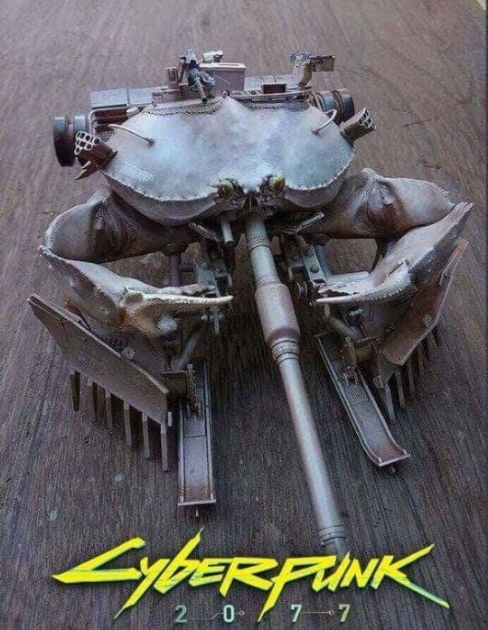 Funny picture of a Cyberpunk crab