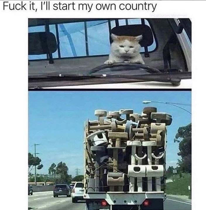 Transport - Fuck it, I'll start my own country