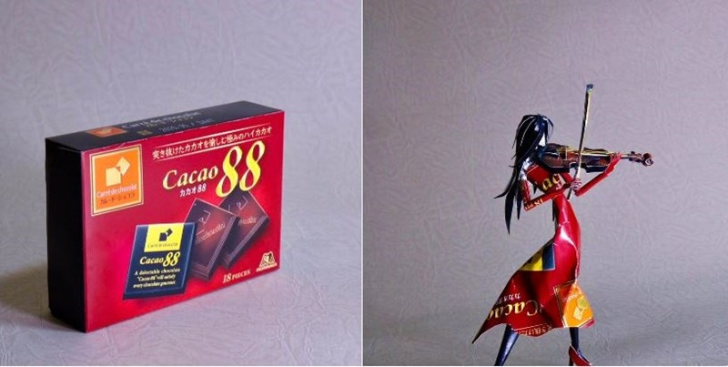 machine art - Action figure - roce 東き抜けたカカオをしむみのハイカカオ Cacao Carrdecheea ルドショコ カカオ88 d Cacao 88 A dinuble chaa Pyanlarm 18PCES Caca