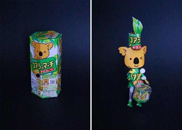 machine art - Paper - tOTT コアラ CE LOTT チョコレート) ョコレー