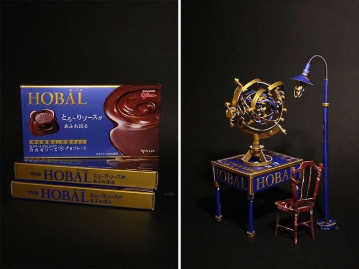 machine art - Product - ホーバル HOBAL 20ae H とろ~りソースが あふれ出る キクリームで仕上げた カカオッースくのチョコレート Spicces etrAnRs ホーパル HOBALソースが BALHOBA あふれ出る HOBAI リッースが ,あふれ出る