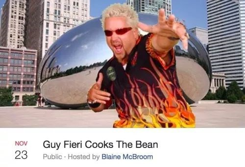 Eyewear - Guy Fieri Cooks The Bean Public Hosted by Blaine McBroom NOV 23
