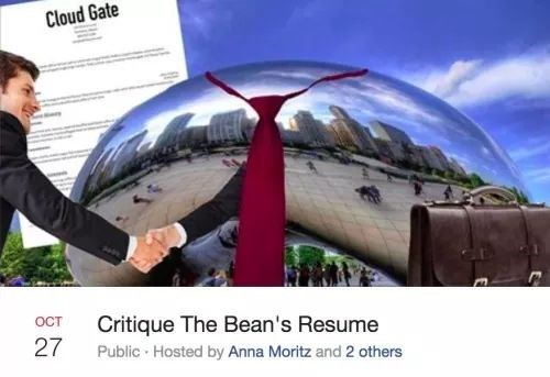 Transport - Cloud Gate OCT Critique The Bean's Resume 27 Public Hosted by Anna Moritz and 2 others