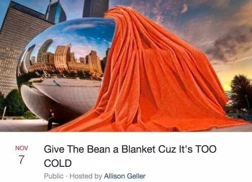 Sky - Give The Bean a Blanket Cuz It's TOO NOV 7 COLD Public Hosted by Allison Geller