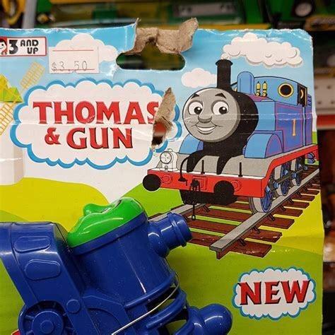 Thomas the tank engine - AND UP $3 50 THOMAS & GUN NEW