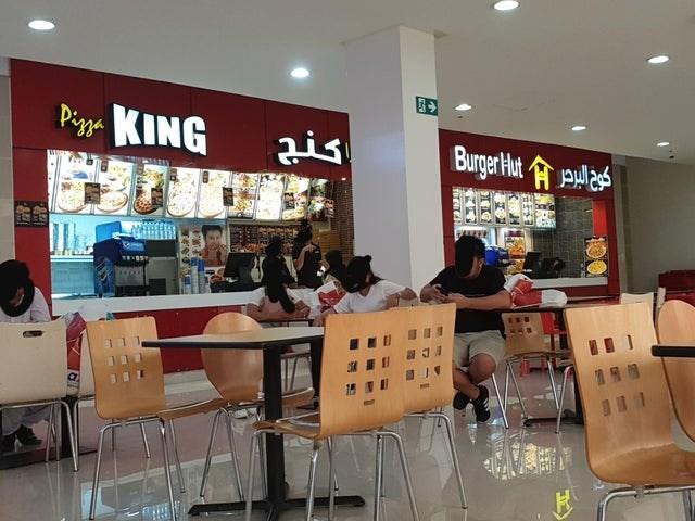 Food court - Pizza KING ais Burger Aut oala