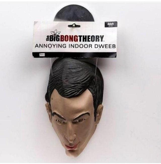 Hair - Adult EBIGBONGTHEORY ANNOYING INDOOR DWEEB