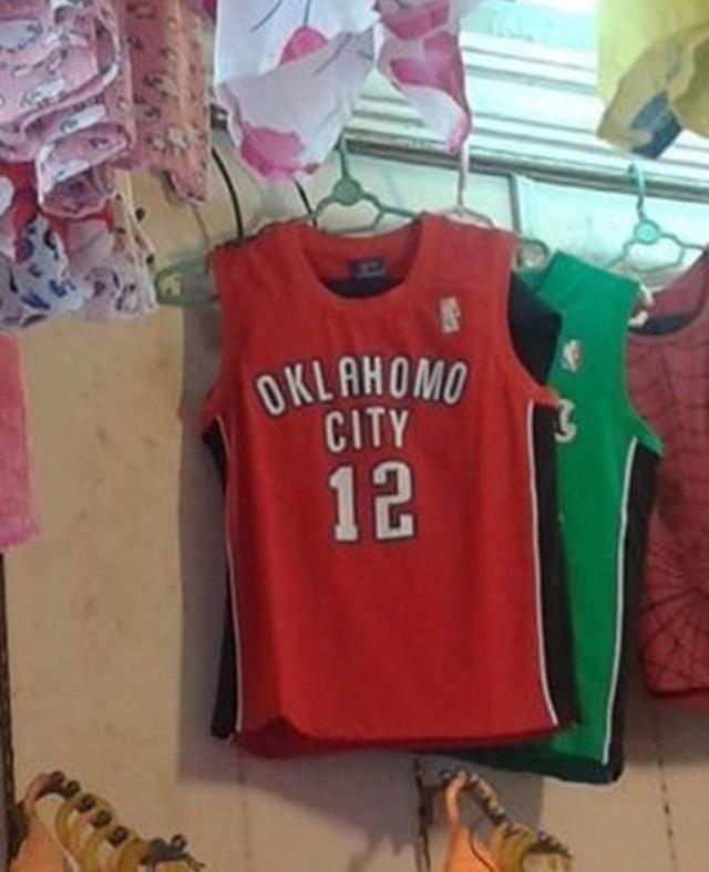 T-shirt - OKLAHOMO CITY 12