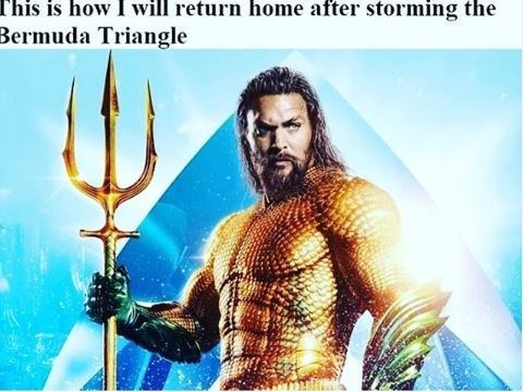 Movie - This is how I will return home after storming the Bermuda Triangle