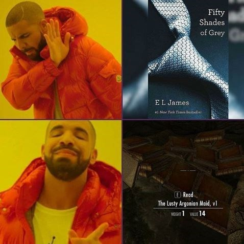 Yellow - Fifty Shades of Grey EL James New York Times Bestseller E Read Lusty Argonian Maid, vl WEIGHTLE 14