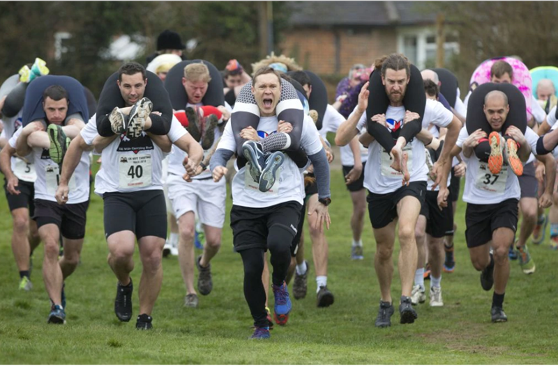 wife carrying competitions
