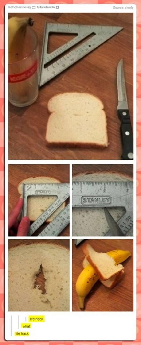 """Food - hellohennessy fyfandenda Source: skrelp MEASRE yT""""י: STANLEY 24 30 life hack what ife hack"""